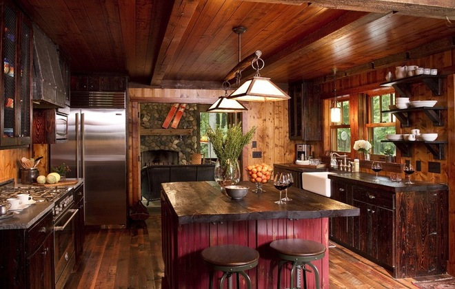 Описание: Rustic Kitchen by Michelle Fries, BeDe Design, LLC